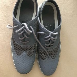 Cole Haan Gray dress shoes